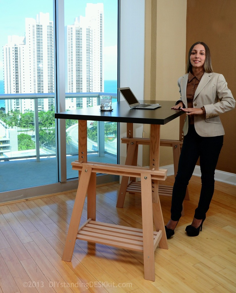 DIY Standing Desk in Miami