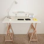DIY Standing Desk Kit - Desk with Shelf