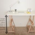 DIY Standing Desk Kit - Adjustable Heights
