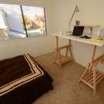 DIY Standing Desk Kit - Desk in Room with Shelf