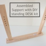 Assembled Support with DIY Standing Desk Kit