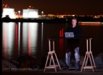 Where are the Ships? @ our Standing Desk - San Diego Harbor, CA
