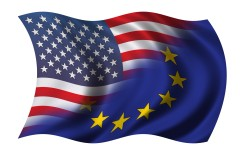 US / EU Flag
