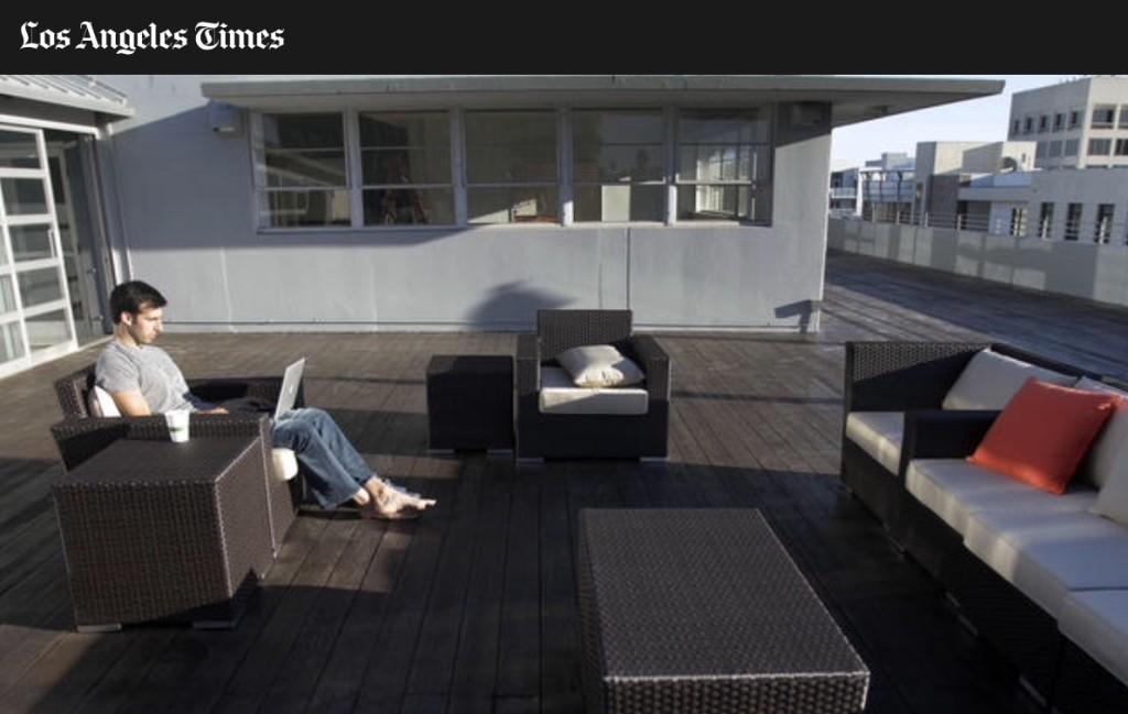 LA Times Sitting